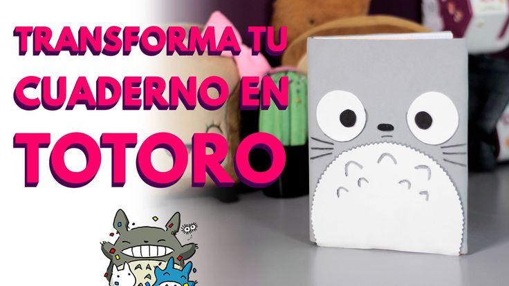 Manualidades en foami: CUADERNO TOTORO | regreso a clases (foam, foamy, ...