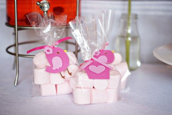 Sweet Tweet Bird and Birdhouse Favor Tags by http://pinwheellane.etsy.com