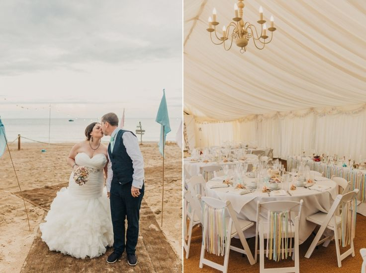 Gorgeous Images From Natalie And Stephen S Bournemouth Beach Wedding Last Summer Amazing Style Photos In Dorset Uk