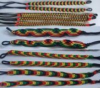 Quantity: mixed 5pcs ( each style 1 ) Material: Cotton,Silk Length: 20cm Bracelet deisgn:  5 differe