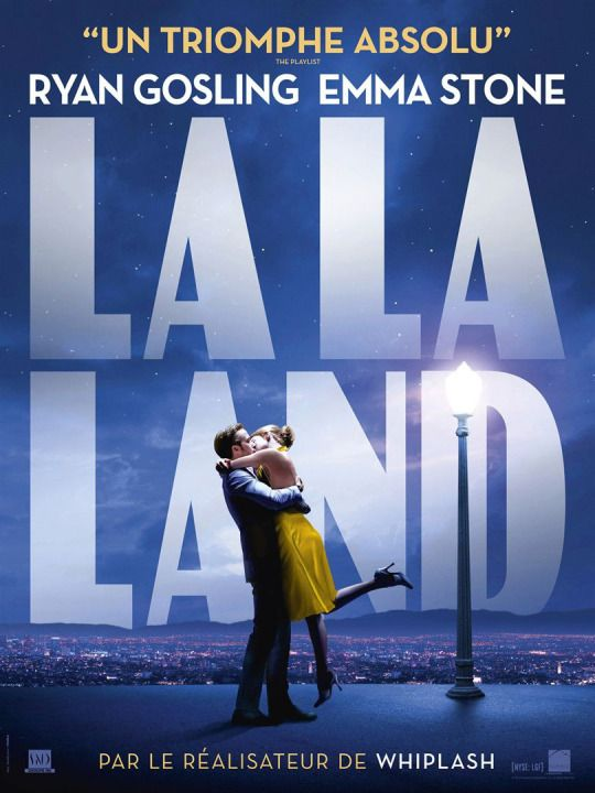 French poster for Damien Chazelle's La La Land.