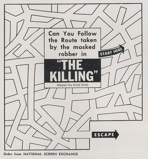 an analysis of stanley kubricks movie the killing At 27 writer-director stanley kubrick, in his third full-length picture, has shown more audacity with dialogue and camera than hollywood has seen since the obstreperous orson welles went riding out of town on an exhibitors' poll august 3, 2011   full review time magazine top critic [the film] at first tends to be.