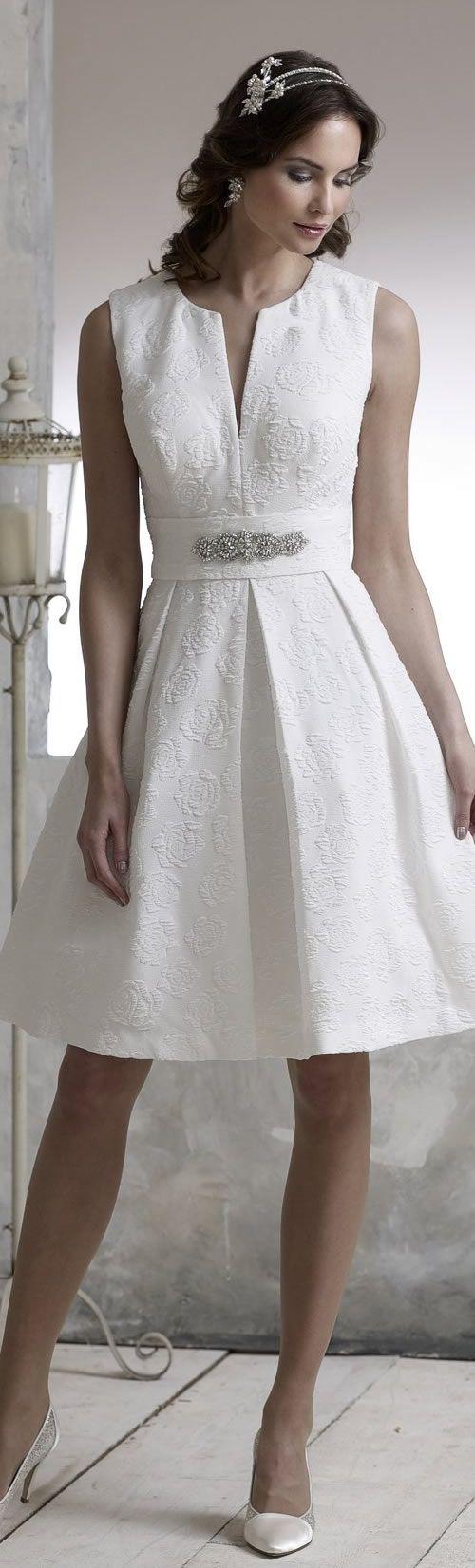 D'Zage Short Wedding Dress