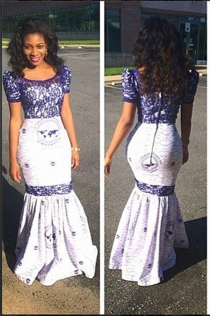 Lace Ankara Style Ankara African Fashion Africa