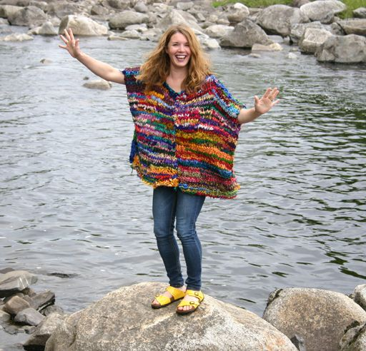 Looking for cool yarn that makes a difference too?   Enter to win a $100 shopping spree at Darn Good Yarn!
