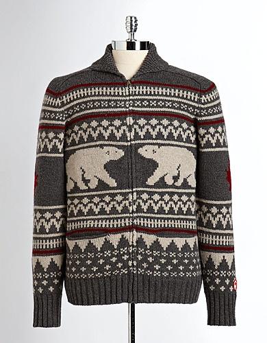 Men's Cotton Knit Sweater