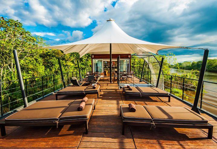 Sono tre le Boat Resort di lusso per una vacanza in crociera nella natura