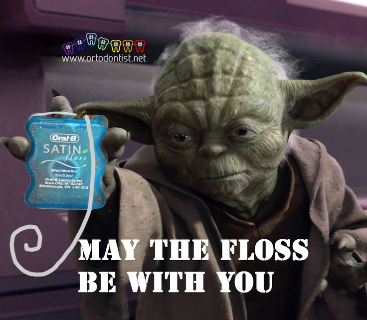 36 Best Images About May The Floss Be With You On