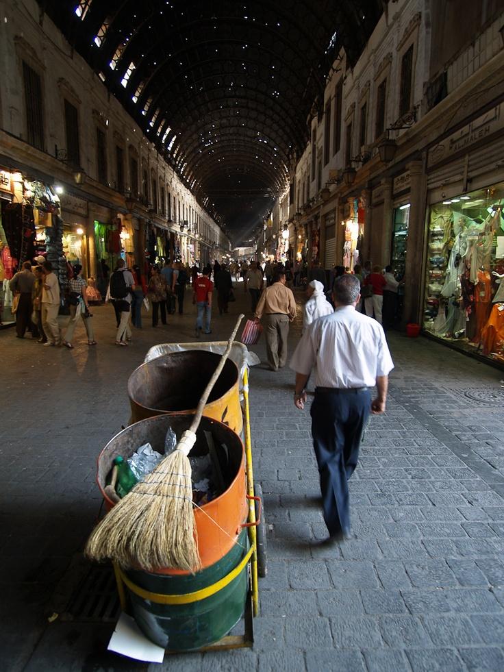 Damascus, Souk El-Hamidiyeh