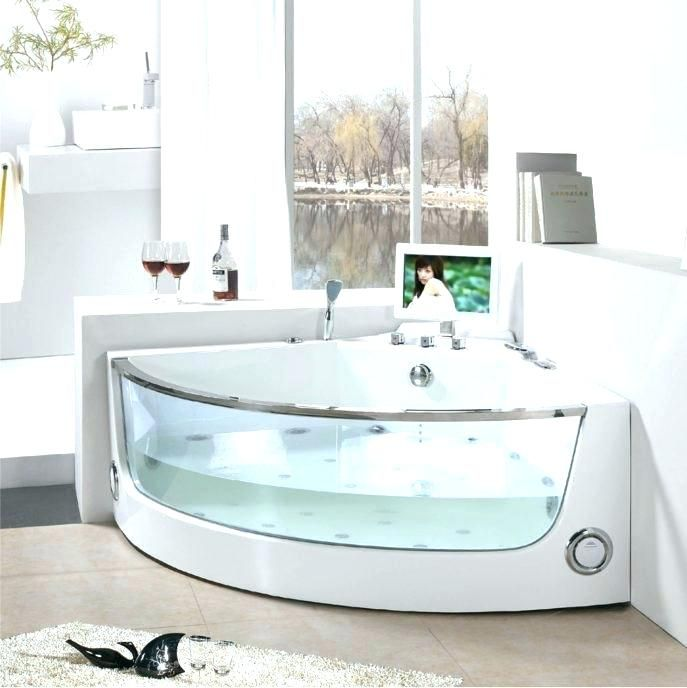 Extra Deep Bath Corner Soaking Tub Corner Tub Bathtubs For