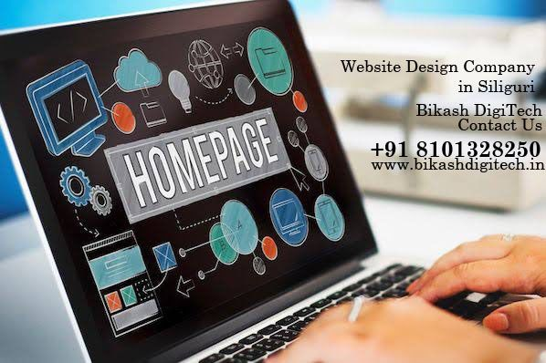 Choose The Best Website Design Company In Siliguri For The Best Results Homepage Design Web Design Services Professional Website Design