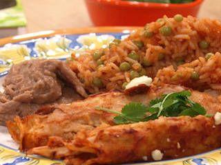 Eva Longoria's Enchiladas Rojas Recipe