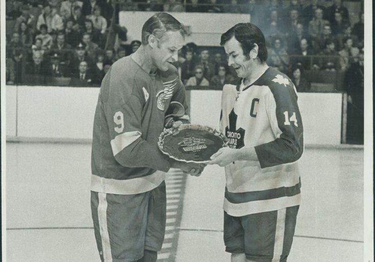 Gordie Howe & Dave Keon