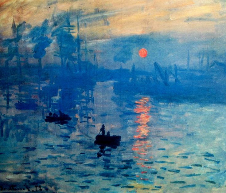 Analysis of Impression soleil levant by Claude Monet