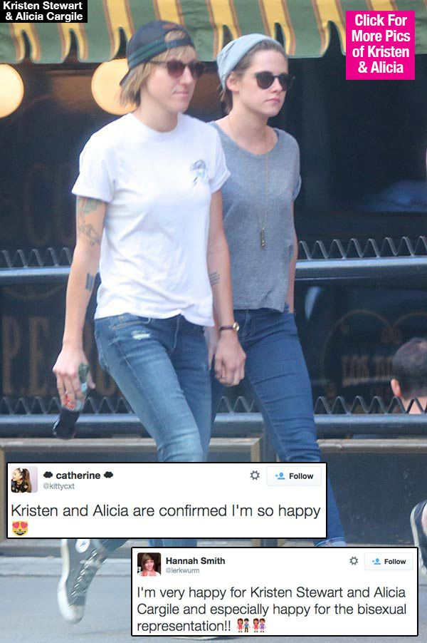 Kristen Stewart & Alicia Cargile: Fans Show Support After Relationship Confirmed
