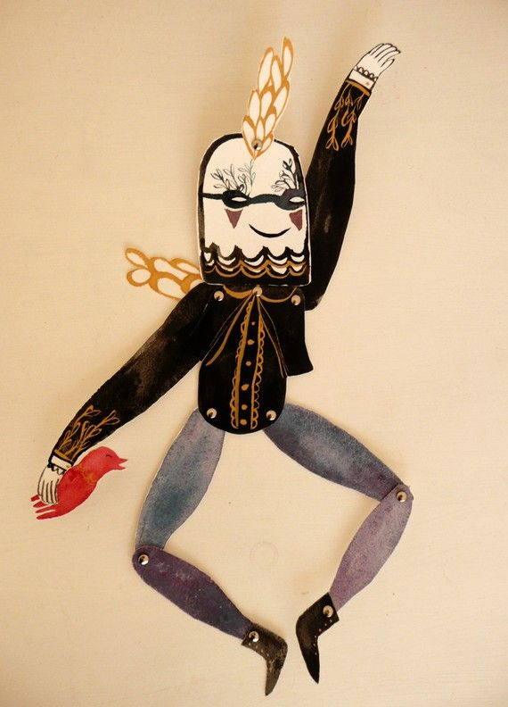 Ben Conservato :: articulated fantasy character