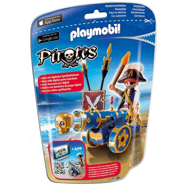 PLAYMOBIL Piraten mit blauer Kanone