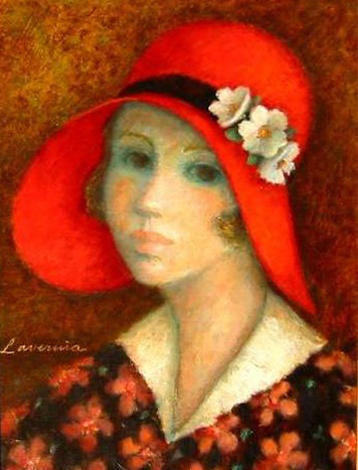 """Le Chapeau Rouge"" from ANGELINA LAVERNIA 1995"