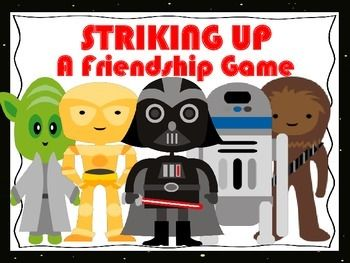 This updated boys role playing game includes all the important skills required to make and keep a friendship. Game offers scripted fill in worksheets, cute handouts, and questions that promotes thought provoking problem solving, communication skills, relationship, and social skills using an appealing theme.1.