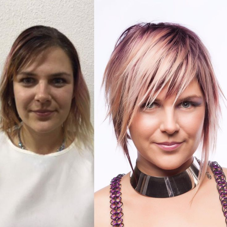 This amazing transformation from Angie Hunt (@angie_hunt_), a stylist at Chatters Hair Salon inWinnipeg, Manitoba, Canada, earned her a finalist spot in the 2017 #ONESHOT Hair Awards for Transformation Shot of the Year. Check out the color formulas and steps below!   Want to be featured? Tag your pics to #behindthechair!     Pricing Session 1 … Continued
