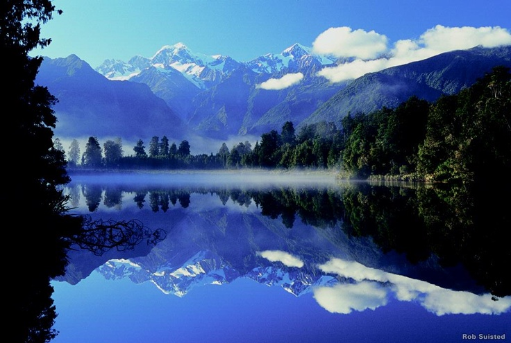 Lake Matheson   Hiking New Zealand