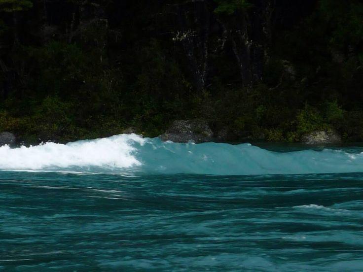 Aguas del río Baker, Carretera Austral 2015