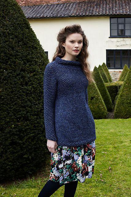 Ravelry: Yoked Tunic pattern by Debbie Bliss