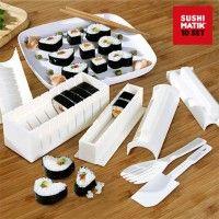 Αν αγαπάτε την ιαπωνική κουζίνα, γίνετε επαγγελματίας σεφ και ετοιμάστε τα καλύτερα σούσι χάρη στα καλούπια σούσι Sushi Matik! Ένα σετ σούπερ πρακτικό