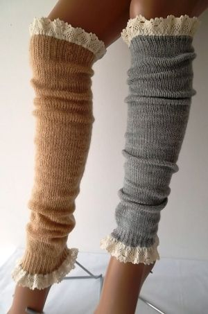 SOCKS -  Leg Warmers Boot Socks Winter Socks Autumn Socks by melissa.alate