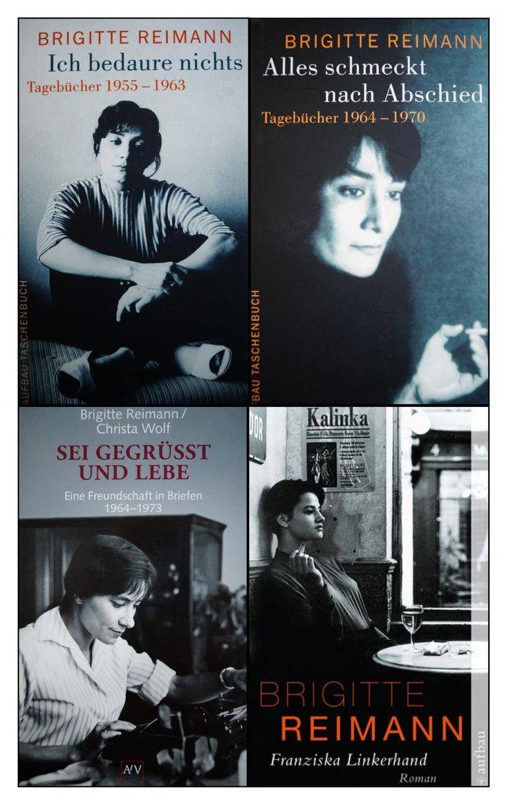 Brigitte Reimann beim Aufbau Verlag // Mehr Informationen unter http://www.aufbau-verlag.de/autoren/brigitte-reimann