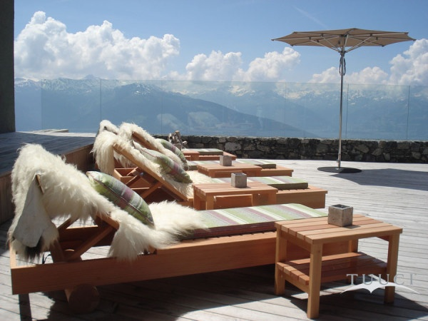 Picture yourself on a chaise lounge in Switzerland without a care in the world.
