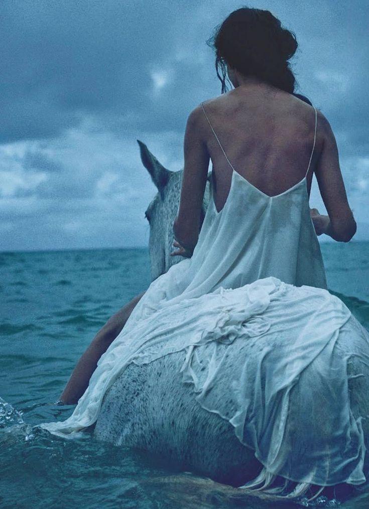 """Amanda Wellsh in """"Wayfinder"""" by Will Davidson for Vogue Australia, July 2014"""
