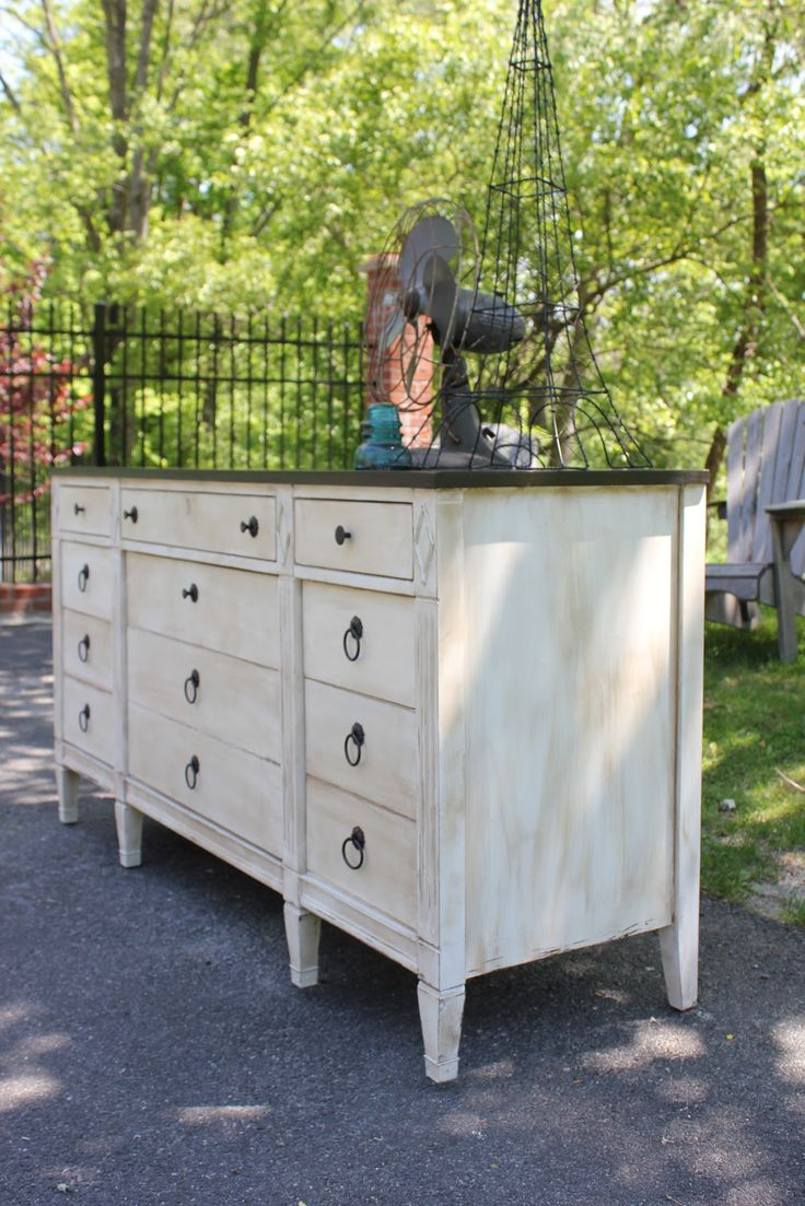 My Passion For Decor: Craigslist Dresser...From Old And Run Down To