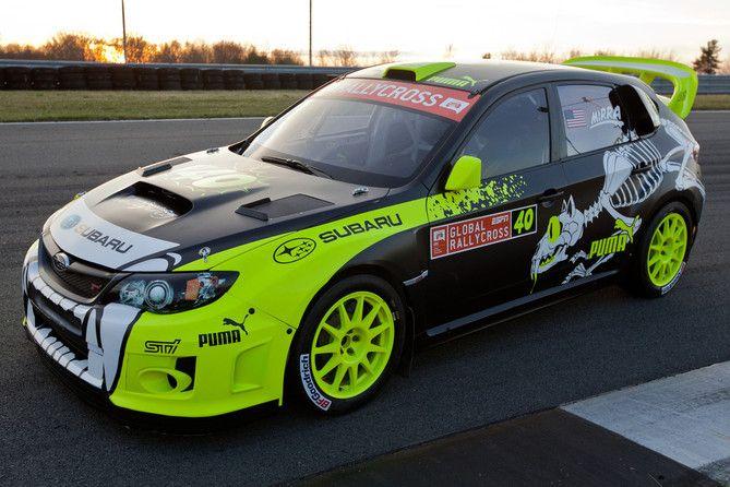 Real Rallycross Car from Subaru Puma – Subaru Car.... love everything about this one.