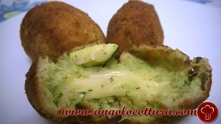 Crocchette delicate di Patate e Zucchine con cuore filante | Angolo Cottura