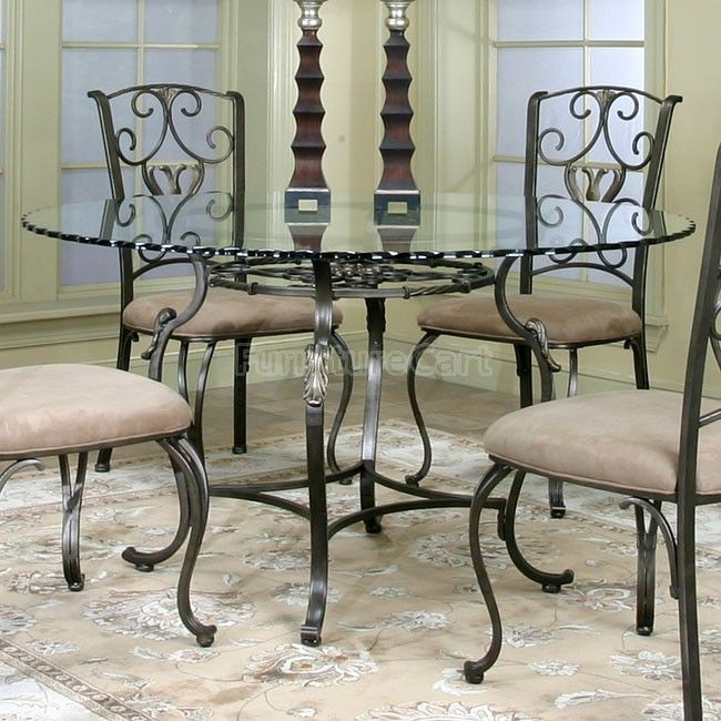 Round Glass Dining Room Tables