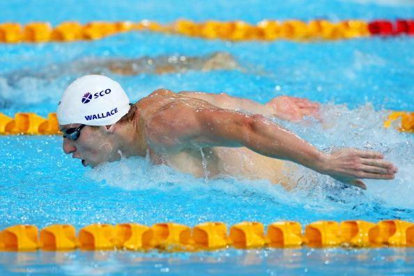 Gold Medal Daniel Wallace (Scotland) - Men's 400m individual medley