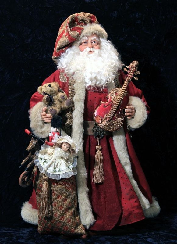 Originals - Old World St. Nicks | Handmade original and reproduction Santa Dolls & Christmas Decor