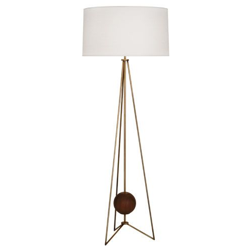 Robert abbey jonathan adler ojai floor lamp style 782 59 75 shade 22