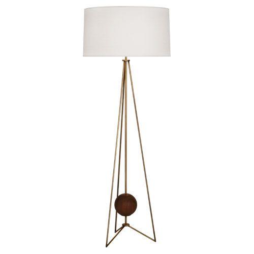 Robert abbey jonathan adler ojai floor lamp style 782 59 75 shade 22