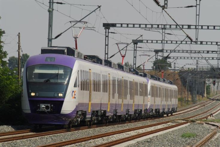 Electric Train to Connect Piraeus to Athens Airport in June.