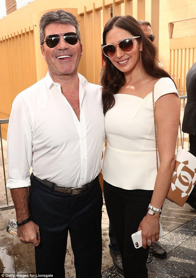 In sync: On Wednesday the couple joined their billionaire philanthropist pal Power Ranger creator Haim Saban as he received a star on the Hollywood Walk of Fame