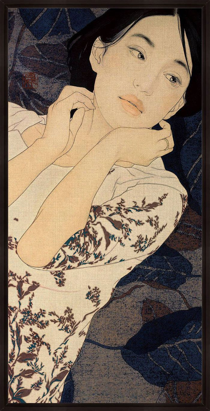 Ikenaga Yasunari   The Japanese Art of Nihonga Redefined inspiration
