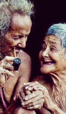 gelukkig oud