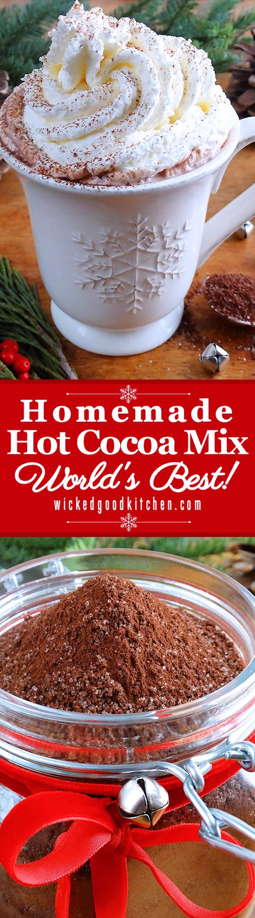 Making hot chocolate for a crowd - Homemade Hot Cocoa Mix World S Best