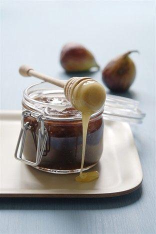 Confiture de figues au miel