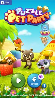 [FREE ANDROID GAME] Puzzle Pet Party - Tetris-Like Game  Tons of Fun Additional Features: Pop the Blocks to Save the Cute Baby Animal & Defeat the Not-so-scary Monsters