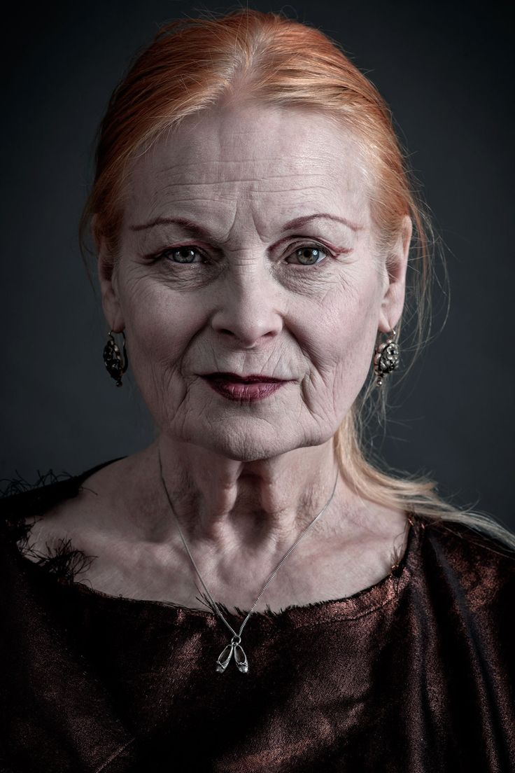 """The sexiest people are thinkers. Nobody's interested in somebody who's just vain with a hole in their head, talking about the latest thing — there is no latest thing. It's all rubbish."" ~ Vivienne Westwood  Photographed by Andy Gotts"