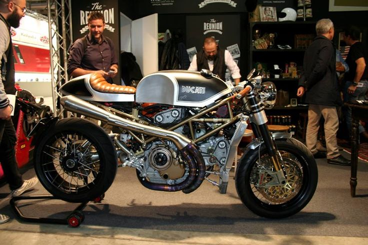 DUCATI Monster S4R 'BLACK PEARL' South Garage Motor Co. photo:CRC #ducati #s4r #custom #caferacer #southgarage #thereunion #eicma #caferacercult #crc