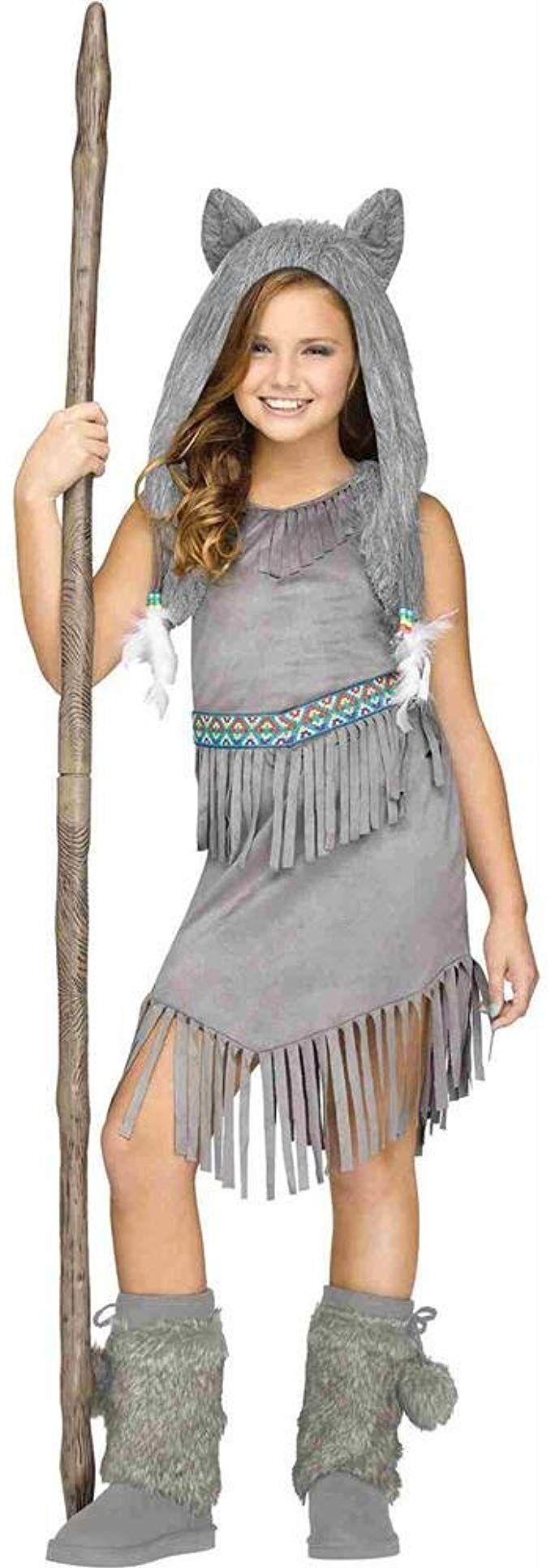 Fun World Tween Girls Halloween Costume Wolf
